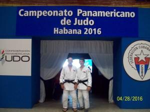 doug and doug at the Pan American Games, Havana,Cuba